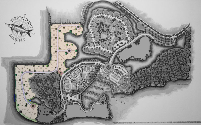 Tarpon Point Marina - Tarpon Estates Siteplan
