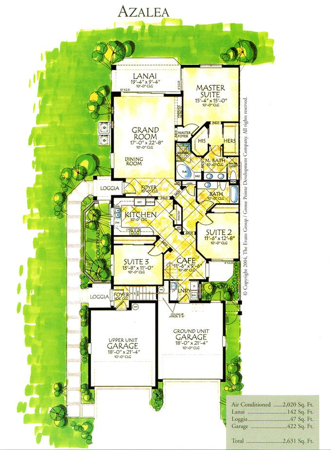 First Floor Park Home Condo With 3 Bedrooms Begonia Plan